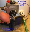 Flushing your hot water tank can get rid of the sediment in the tank that can cut down on how much hot water your water heater can produce. It is not hard to do, and takes little time.