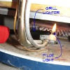 Many things may be involved in your pilot light not lighting on your gas hot water heater. To find out some of these follow this link to see if it is something that you may be able to fix yourself.